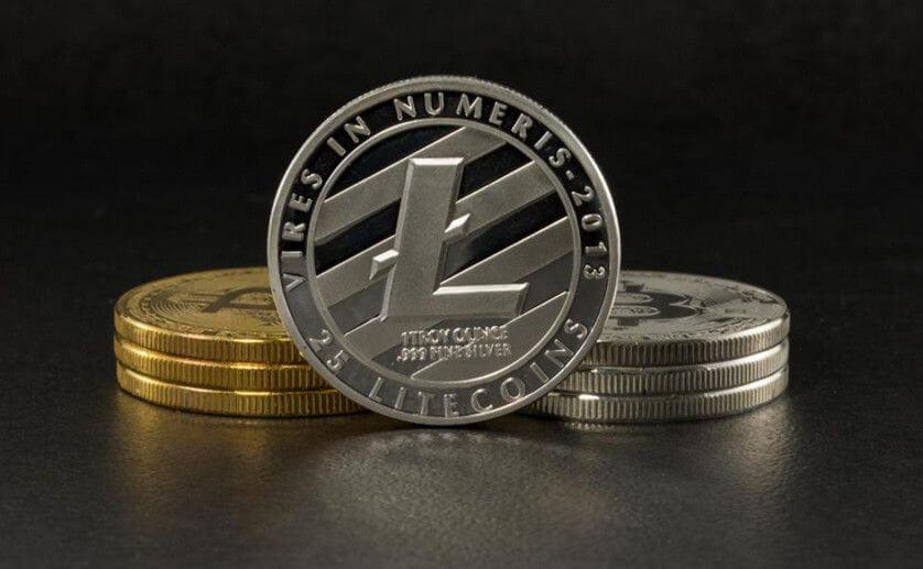 Litecoin münze