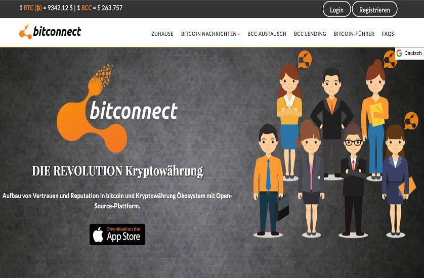 Bitconnect Erfahrungen Platform | Bitconnect Test | Ethereum-kaufen.de
